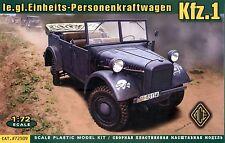 ACE 1/72 72509 WWII German le.gl.Einheits-Personenkraftwagen Kfz.1