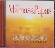 THE MAMAS & THE PAPAS - CALIFORNIA DREAMIN' - LIVE IN CONCERT -  CD