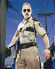 Carlos Alazraqui Autographed 8 x 10 As Deputy James Garcia From Reno 911!