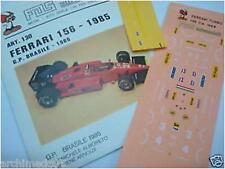 FERRARI 156 1985 GP BRASILE N.27-28 DECALS 1/43