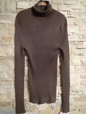 $2,675. GUCCI 100%CASHMERE RIBBED MEN'S TURTLENECK SWEATER  ITALY SIZE XXXL