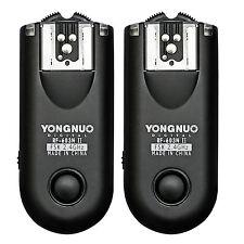 Yongnuo RF-603 II Flash Trigger for Nikon D7300 D7100 D7000 D5300 D5500 D3100