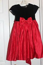 dress girls  Dorissa Red Holiday Dress Sz 5 Flowers Christmas Party