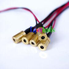 100pcs Compact mini Focusable 780nm 3mW 5mW Infrared IR DOT Laser Diode Module