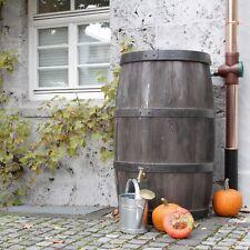 Regentonne Regenfass Regenwassertonne Weinfass BURGUND 500 L dunkelbraun