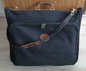 BRIC'S RODEO STAR SUIT CARRIER / HOLDER WITH LEATHER TRIM