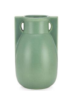 Teco Buttress Two Vase - Green