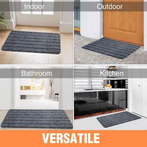 Indoor Doormat Front Door Mat Anti-Slip Entrance Door Rug Shoes Scraper No Odor