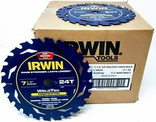 "(50-PK) Irwin 24035 14035 7-1/4"" Marathon WeldTec Circular Saw Blades"
