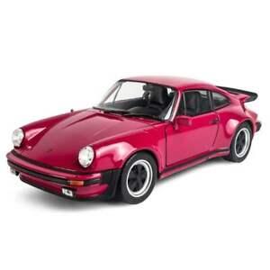 1:24 WELLY Alloy Static Diecast Car Model Men's Gift  For 1974 Porsche 911 Turbo
