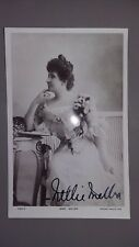 NELLIE MELBA - Signed Australian SOPRANO / Opera - Autograph Postcard
