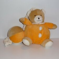 Doudou Ours Babysun - Orange