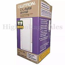 Qty 20. Lutron Maestro 150-W Single-Pole/3-Way/Multi-Location  CFL-LED Dimmer