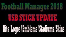 FM 2018 Football Manager 2018 Logos Faces Kits Update