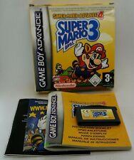 Super Mario Advance 4 Super Mario Bros 3 for Nintendo Game Boy Advance PAL BOXED