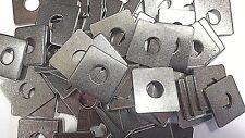 Mattenbefestigung Doppelstabmattenzaun Zaun Klemme Klemmplättchen Halter  50x