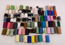 Lot of 101 Thread Spools String Yarn Various Sizes and Colors Collection