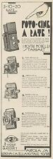 Z3094 Cameras baldax & piccochich-Advertising - 1933 OLD ADVERT
