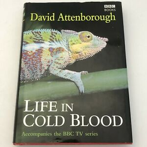 Life in Cold Blood by David Attenborough (Hardcover, 2008) Signed Copy 24180 CP