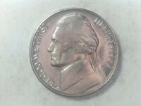1960 D Jefferson Nickel  !!  - Free Shipping !! GREAT STEP DETAIL !! TAKE A LOOK