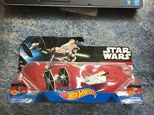 Hot Wheels Star Wars Tie Fighter vs Ghost Die Cast Starships