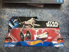 Hot Wheels Star Wars Tie Fighter vs Ghost Die Cast Starships