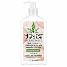 HEMPZ Pink Pomelo and Himalayan Sea Salt Herbal Body Moisturizer 500 ml.