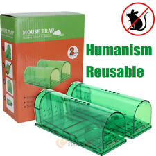 Rodent Mouse Humane Live Trap Hamster Cage Mice Rat Pest Control Catch Bait New