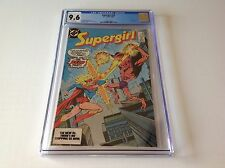 SUPERGIRL 23 CGC 9.6 WHITE PGS HARD TO FIND LAST ISSUE TV SHOW DC COMICS