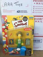 Simpsons Series 7 Edna Krabappel Action Figure Case Fresh New