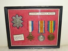 First World War (1914-1918) British Medals BLACK WATCH OR HIGHLANDERS Regiment
