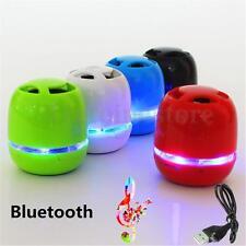 Bluetooth Wireless Mini Portable Speaker for iPhone iPad MP3 + LED Light Dancing