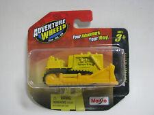 Maisto Adventure Wheels Yellow Construction Bulldozer Mint on card Walmart