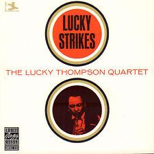 LUCKY THOMPSON QUARTET - LUCKY STRIKES (1987 JAZZ CD REISSUE JAPAN)