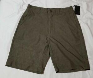 CSG Champs Hybrid Shorts Mens Trunks Army Green size 32 MRSP $42