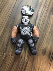 "1999 Toybiz WCW NWO Sting Mini 8"" Body Bashers Wrestling Buddy Plush No Sound"