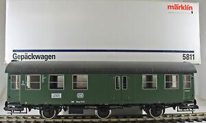 Märklin 5811 Gepäckwagen der DB aus Sammlung mit OVP