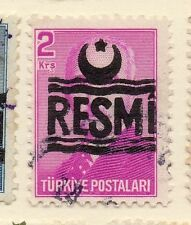 Turkey 1955-56 Optd Resmi Star & Crescent Issue Fine Used 2k. 085956