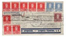 1931 Argentina via Germany to Austria Zeppelin Cover.