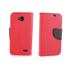 For LG Optimus L90 Wallet Case - Flip Pouch Credit Card Cover W/Screen Protector