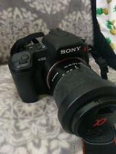 Sony Alpha DSLR-A300 10.2MP Digital SLR Camera with 2 Lense (35-70mm / 55-300mm)
