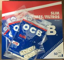 7500 filtri OCB Slim  6mm x 15mm (50 bustine 150 pezzi)