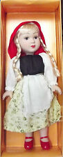 DeAgostini porcelain doll. Characters of fairy tales. Little Red Riding Hood.