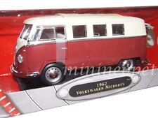 ROAD SIGNATURE 92328 1962 VW VOLKSWAGEN MICROBUS 1/18 DIECAST MODEL BROWN