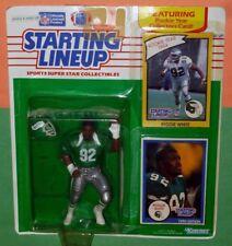 1990 REGGIE WHITE final Philadelphia Eagles - FREE s/h - green Starting Lineup