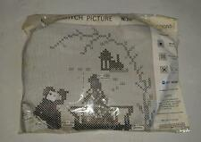Cross Stitch Picture kit with Frame - new with Semco Cotton