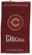 1910s S25 tobacco / cigarette / college silk University of Chicago