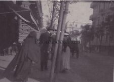 Le Caire Egypte Photo amateur Snapshot Tirage au citrate ca 1900