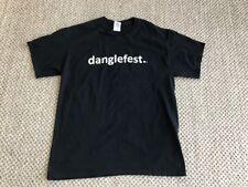 Hockey Mon Logo T-shirt Danglefest Retro Logo Hockey Size Mens L Black