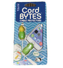 Tzumi Cord Bytes Cell Phone Cable Protector Turtle Frog Pack NEW